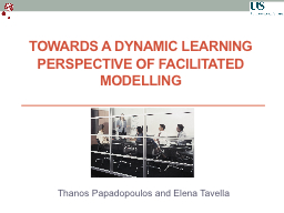 Towards a Dynamic Learning Perspective of Facilitated