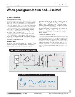 Analog Applications Journal When good grounds turn badisolate Texas Instruments