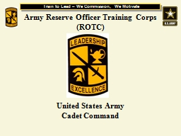 Army Reserve Officer Training Corps