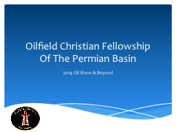 Oilfield Christian Fellowship