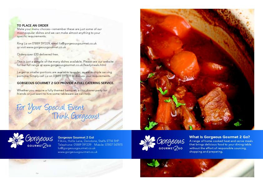 Cooked in small batches exactly as you would at home from quality, loc PowerPoint PPT Presentation