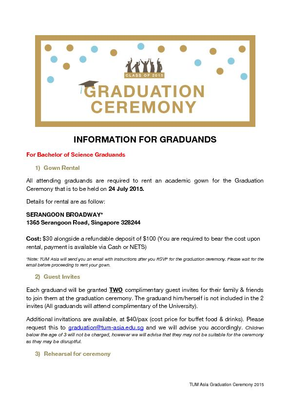 gsfs graduation ceremony pdf document docslides. Black Bedroom Furniture Sets. Home Design Ideas