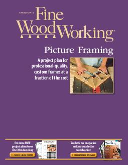 See how our magazine makes you a better woodworker For more FREE project plans f
