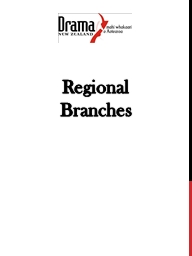 Regional Branches PowerPoint PPT Presentation