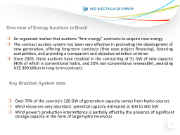 """An organized market that auctions """"firm energy"""" contrac"""