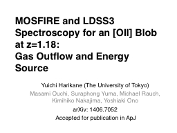 MOSFIRE and LDSS3 Spectroscopy for an [OII] Blob at z=1.18: