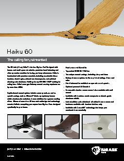 The ceiling fan, reinvented