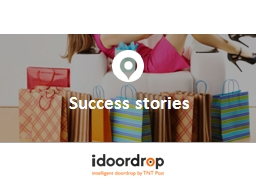 Success stories PowerPoint PPT Presentation