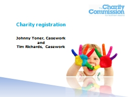 Charity registration PowerPoint PPT Presentation