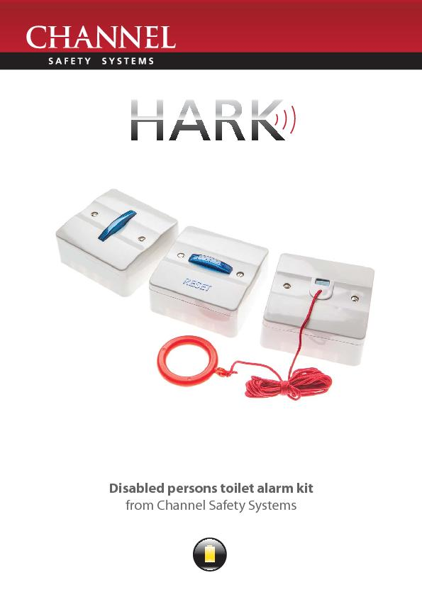 Disabled persons toilet alarm kitfrom Channel Safety Systems