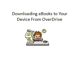 Downloading eBooks to Your Device From