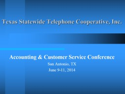 Texas Statewide Telephone Cooperative