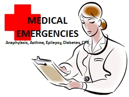 MEDICAL EMERGENCIES PowerPoint PPT Presentation