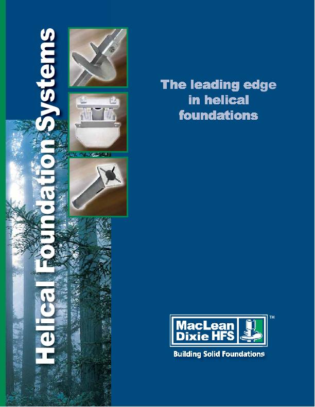 The leading edgefoundations