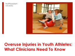 Overuse Injuries in Youth Athletes:
