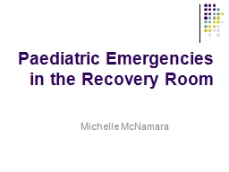 Paediatric Emergencies PowerPoint PPT Presentation