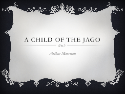 A Child of the