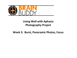 Living Well with Aphasia