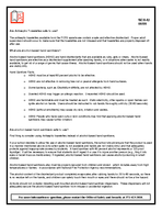 v  SEH   Hand Hygiene and the us e of Antiseptic Towel ettes And Alcohol Based Hand Sanitizers Office of Safety and Security Fact Sheet What is the most effective hand hygiene measure to reduce infec