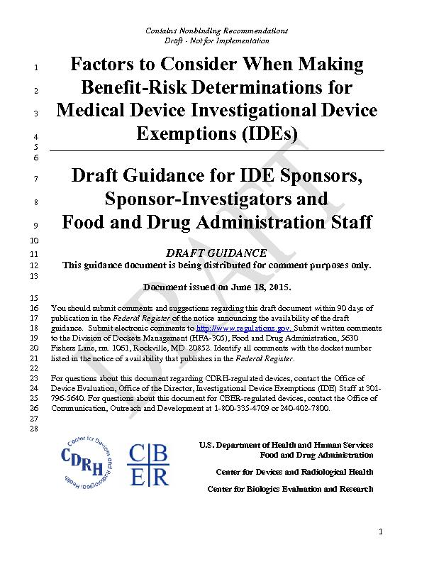 Contains Nonbinding Recommendations Draft - Not for Implementation  ..