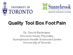 Quality Tool Box Foot Pain