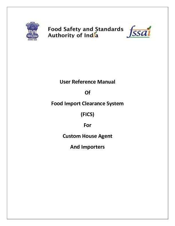 User Reference Manual