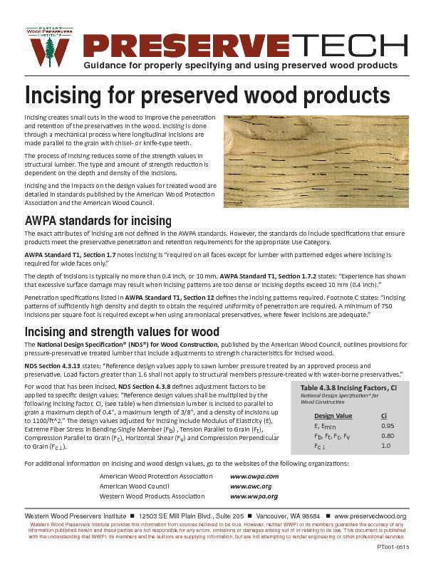 PRESERVEGuidance for properly specifying and using preserved wood prod PowerPoint PPT Presentation