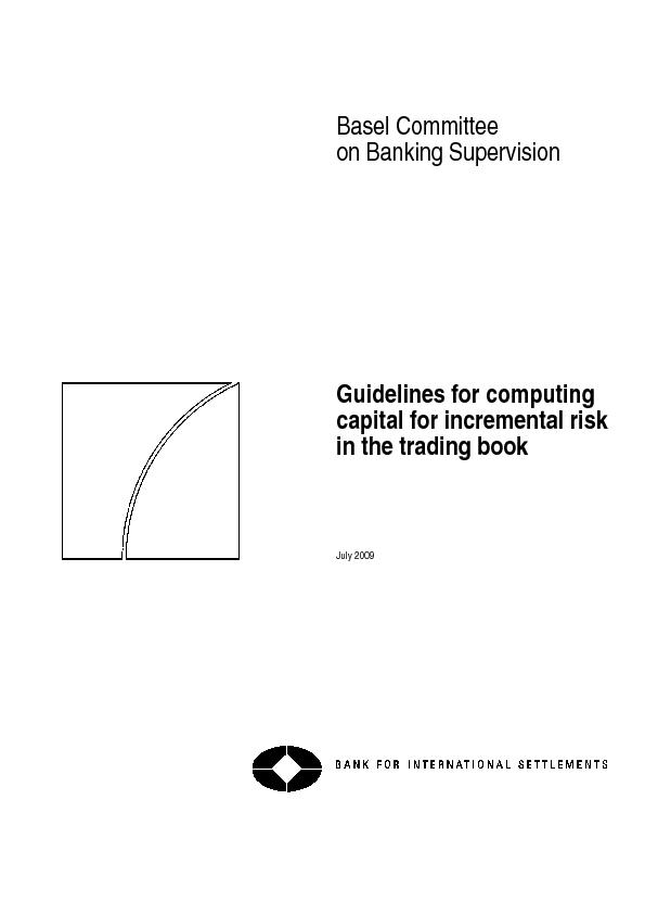 Basel Committee on Banking Supervision