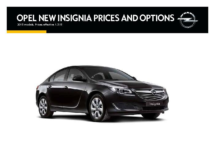 2015 models. Prices effective 1.3.15