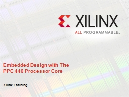 Embedded Design with