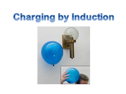 Charging by Induction PowerPoint PPT Presentation