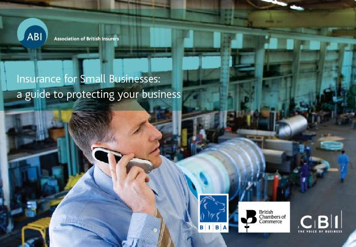 Insurance for Small Businesses:a guide to protecting your business  ..