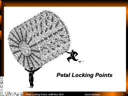 Petal Locking Points