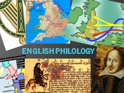 English philology PowerPoint PPT Presentation