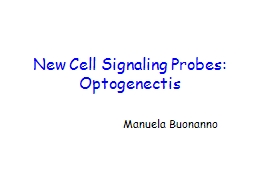 New Cell Signaling Probes: