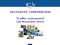 1 DELEGATED COOPERATION PowerPoint PPT Presentation
