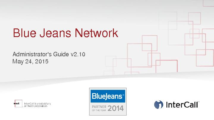 Blue Jeans Network PowerPoint PPT Presentation