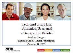 Tech and Small Biz: PowerPoint PPT Presentation