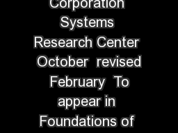 Buridans Principle Leslie Lamport Digital Equipment Corporation Systems Research Center  October  revised  February  To appear in Foundations of Physics   Buridans Ass The problem of Buridans Ass nam
