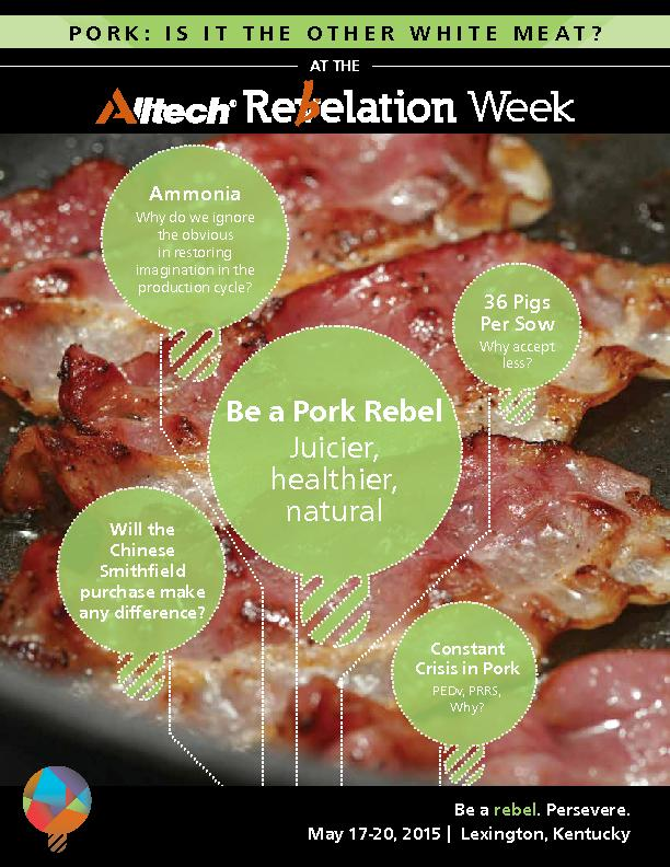 PORK: IS IT THE OTHER WHITE MEAT?Crisis in Pork PEDv, PRRS, Per Sowpur