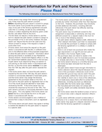 page  of  pages RTB    REQUEST FOR CONSENT TO ASSIGN A MANUFACTURED HOME SITE TENANCY AGREEMENT RTB   A