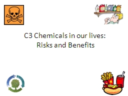 C3 Chemicals in our lives: PowerPoint PPT Presentation