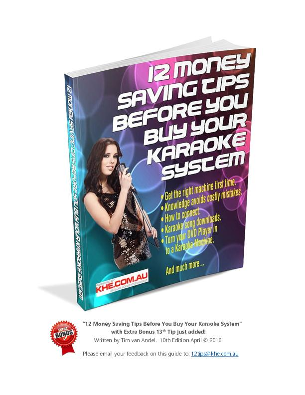 """12 Money Saving Tips Before You Buy Your Karaoke System"""