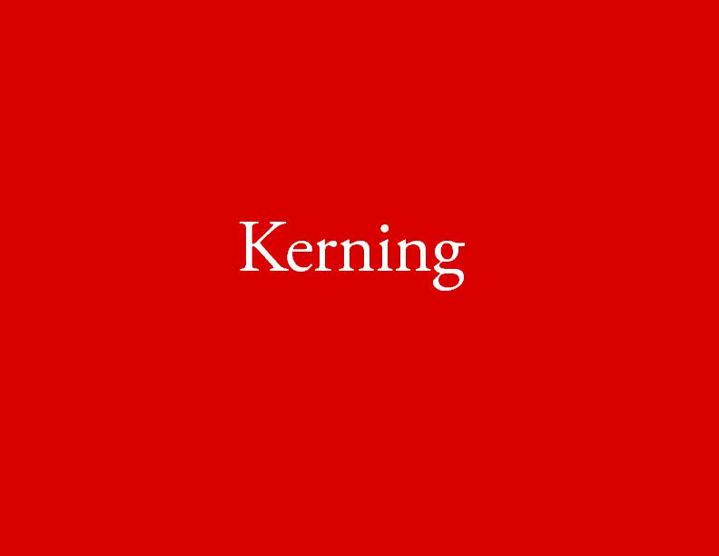 Type Kerning Leading Powerpoint Presentation Ppt