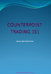 COUNTERPOINT TRADING 151