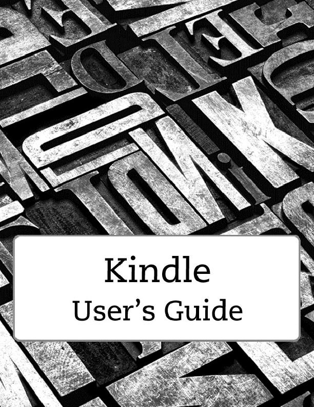 Kindle User's GuideContents