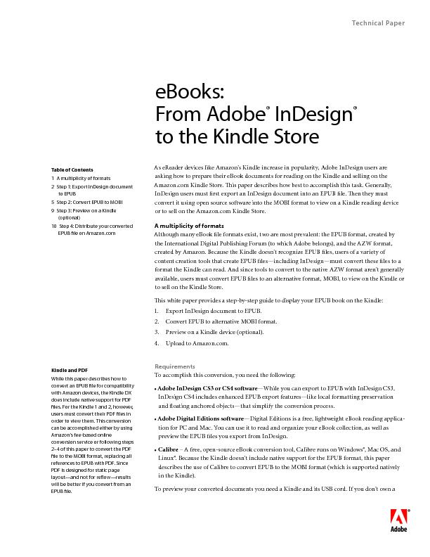 to the Kindle Store