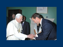 The Catholic Church accepted a six-figure donation from Jam