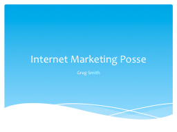 Internet Marketing Posse