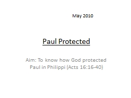 Paul Protected